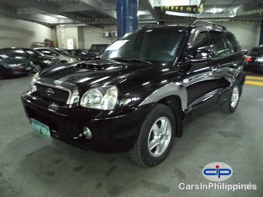 Picture of Hyundai Santa Fe Manual 2001